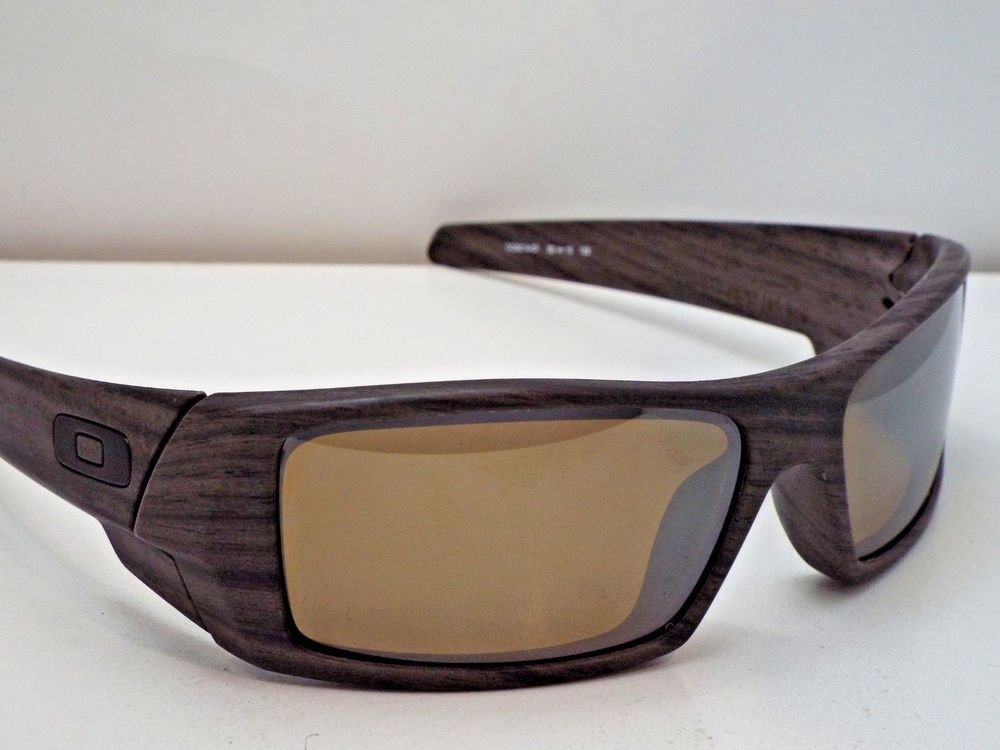 604901d7577 Authentic Oakley OO9014-07 Gascan Woodgrain Tungsten Iridium Pol Sunglasses   215  fashion  clothing  shoes  accessories  unisexclothingshoesaccs ...