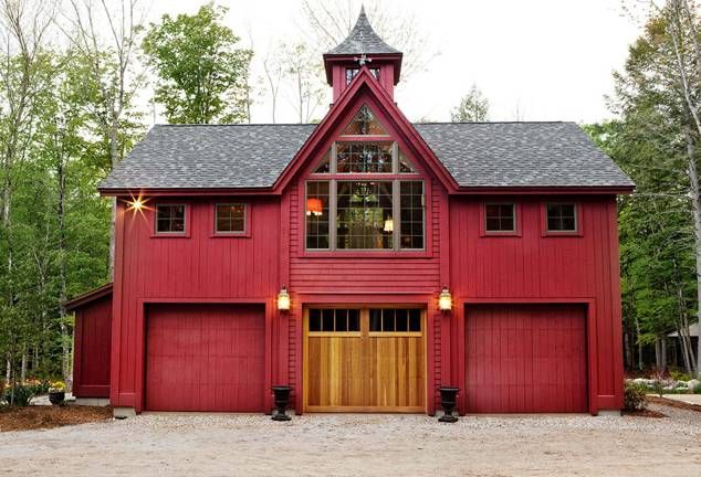 Victorian Vision Timber Frame Carriage House