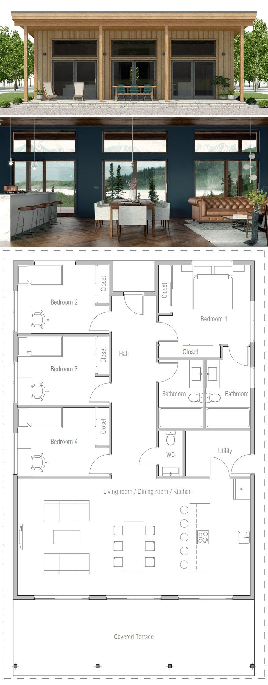 Narrow Home Plans modernhomedecor Narrow Home Plans