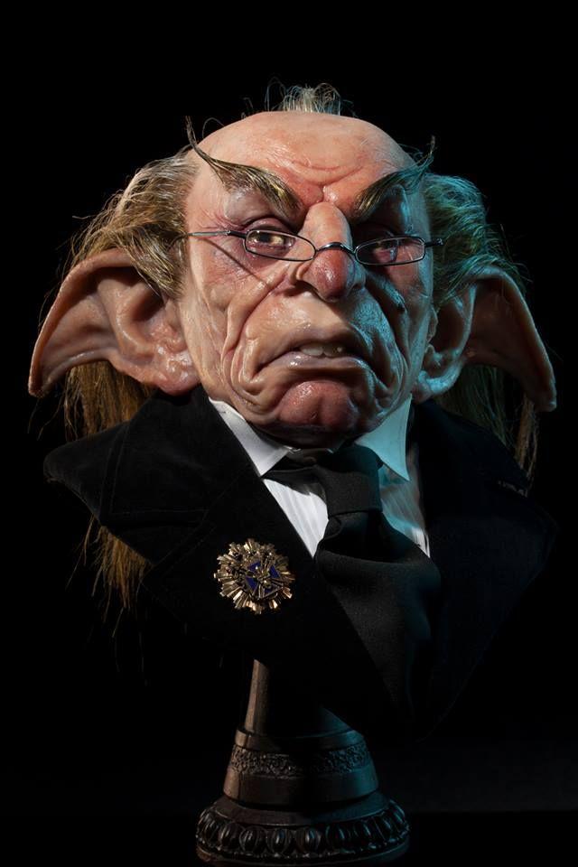 Harry Potter Art By Matthew J Black Harry Potter Goblin Harry Potter Feast Goblin Art
