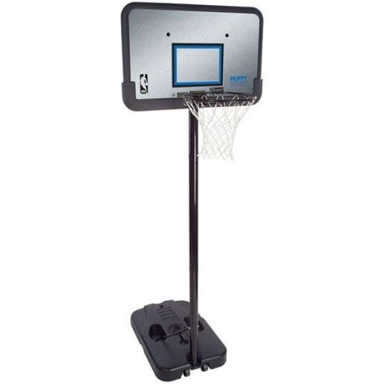 Huffy Sports Basketball Hoop 61312 44 In Eco Composite Portable Hoop Basketball Systems Basketball Backboards Sports Basketball