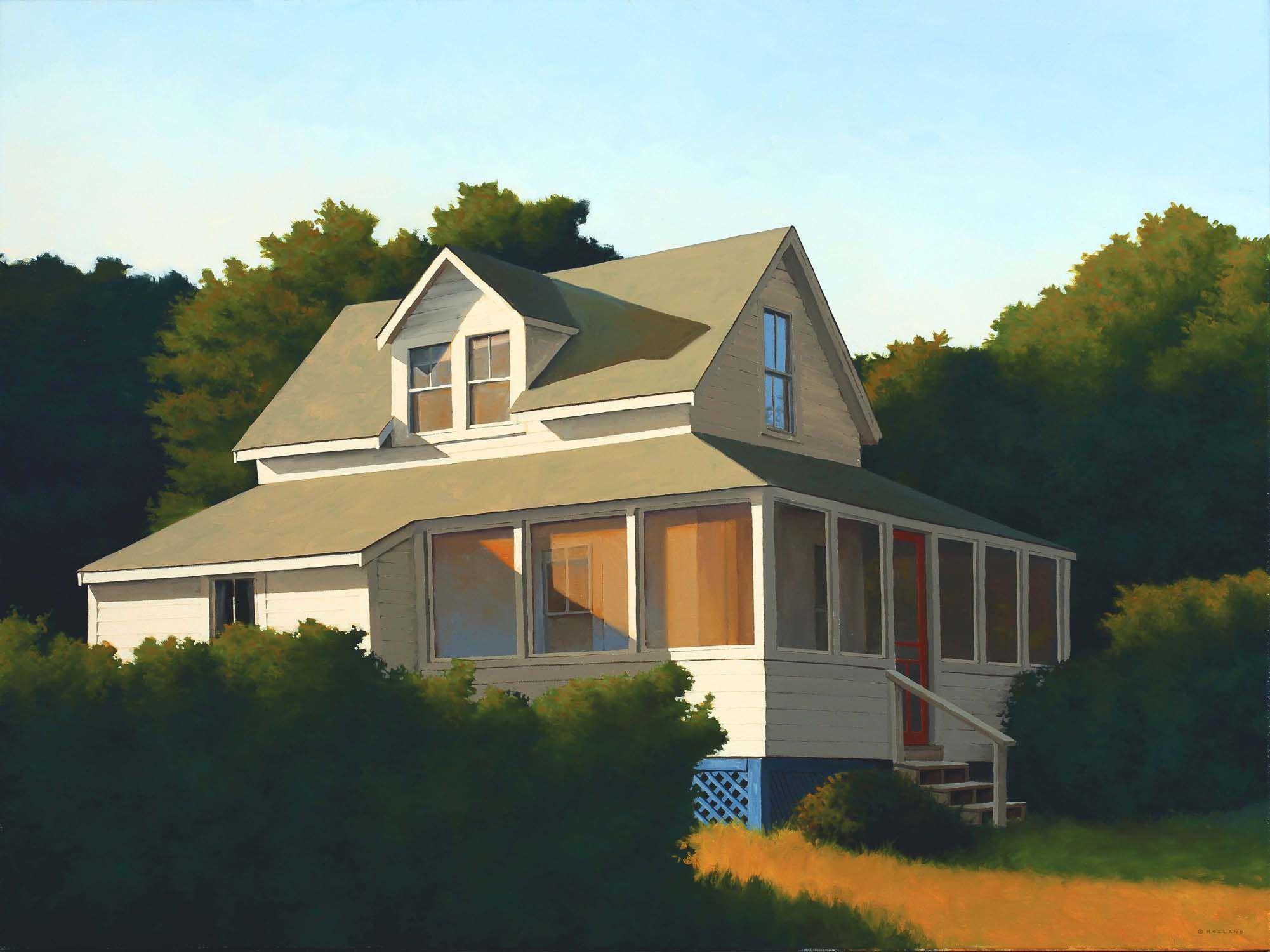 jim holland 1955 present american artist wraparound porch