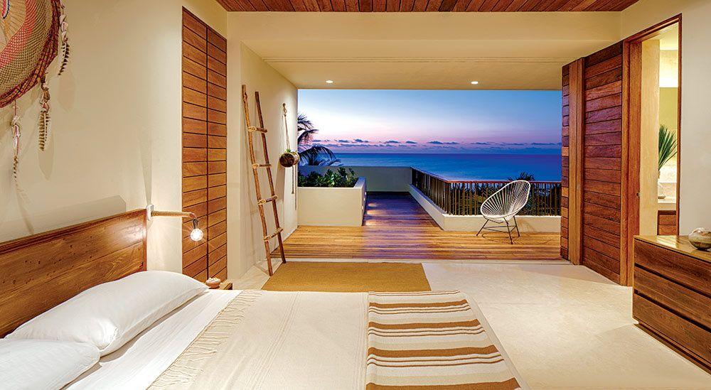Casa Xixim posee una atmósfera moderna y atemporal, con formas y materiales que enfatizan el confort y la serenidad. | Galería de fotos 9 de 11 | AD MX