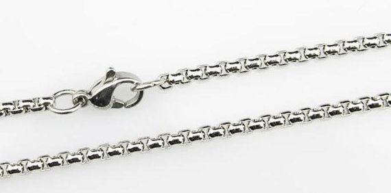 20pcs 20inch 2.0mm 316L stainless steel necklace by aliyafang, $56.00