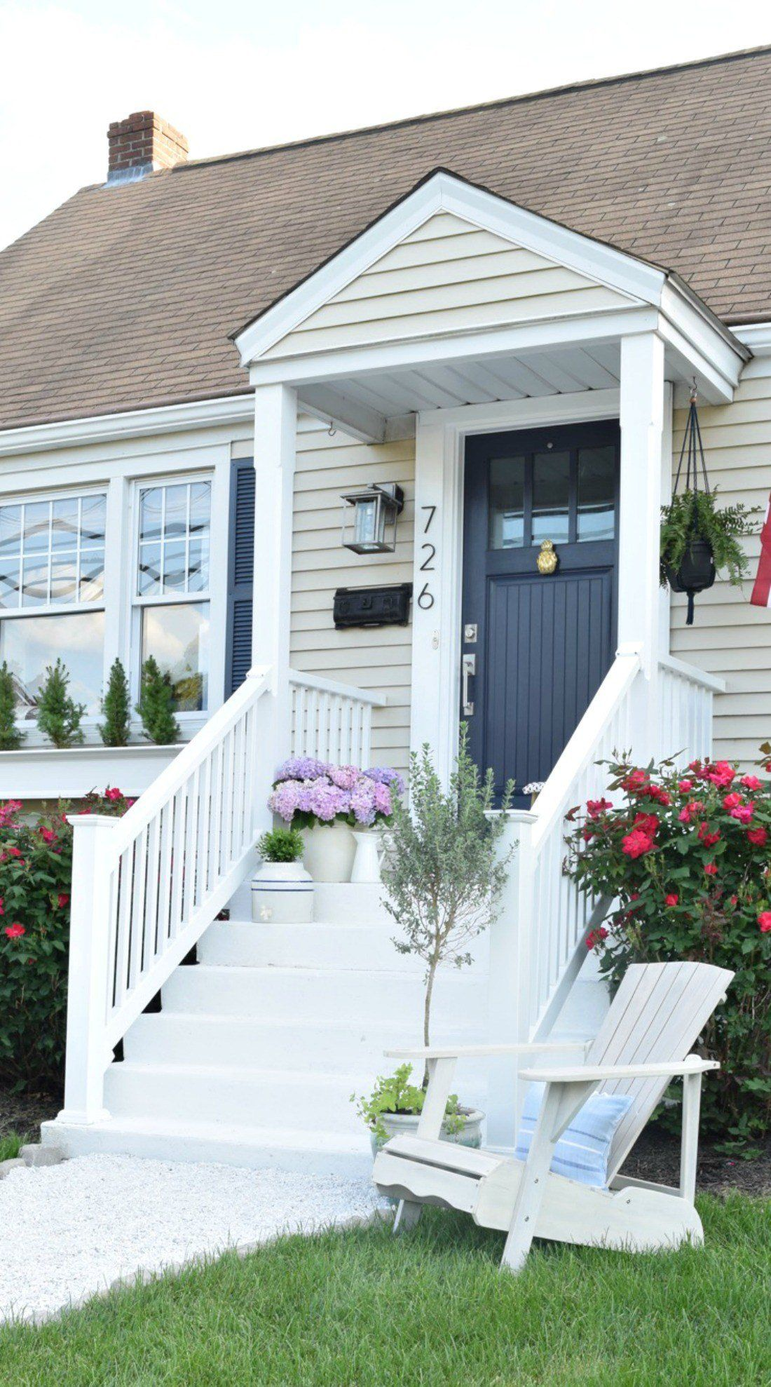 Curb Appeal Diy Details Cape Cod House Exterior House Front