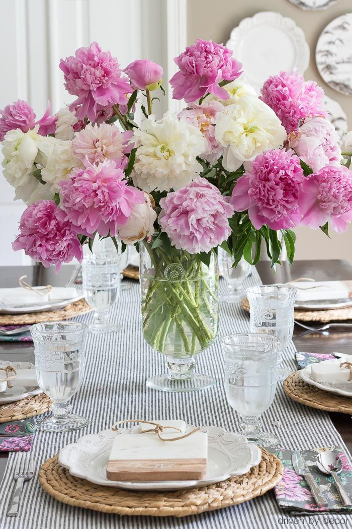 shades of summer home tour  decorating with summer whites  u0026 pops of pink