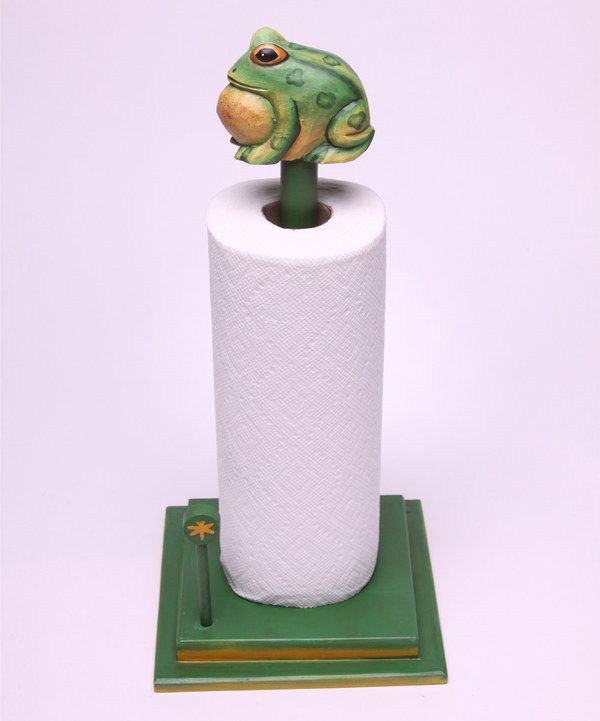 Look At This Frog Paper Towel Holder On Zulily Today Paper
