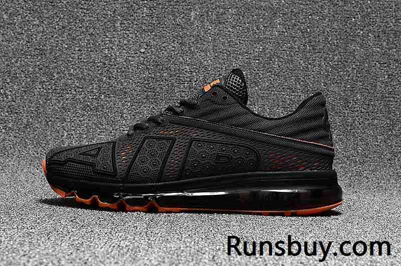 New Coming Nike Air Max 2017 9 Men Carbon Grey Orange | nike