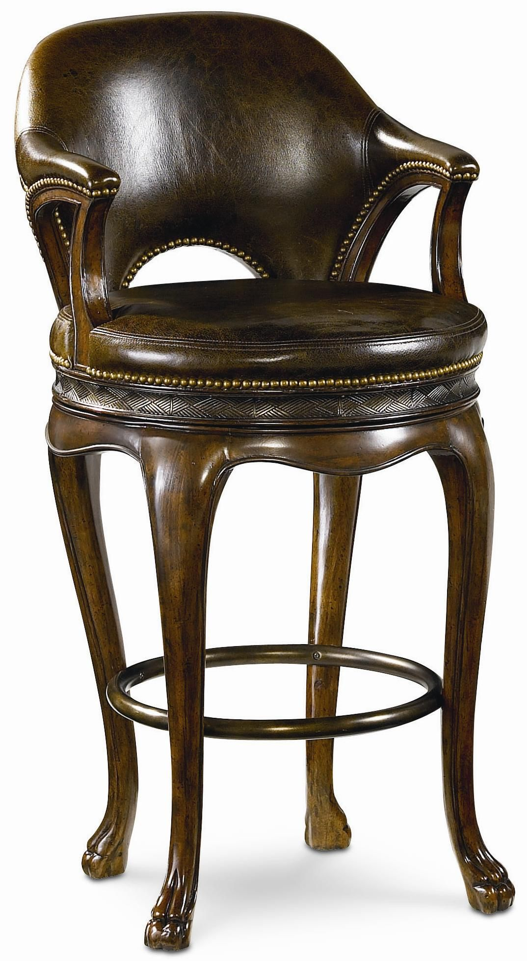 Ernest Hemingway Kenyan Bar Stool By Thomasville