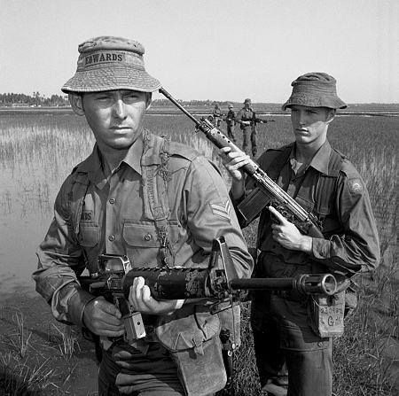 An Australian rifle Company from the 2nd/4th Battalion The