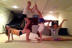 stunts to do with your best friend  google search  cheer
