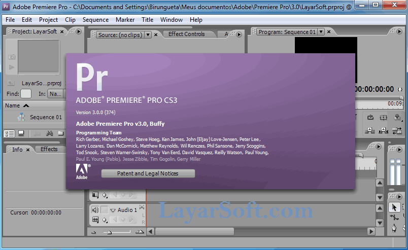 Adobe Premiere Pro Cs3 Portable Film Blu Ray After Effects