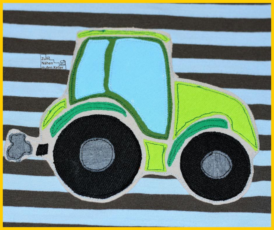 Raglanshirt Kids Von Erbsenprinzessin Mit Traktor Applikation Nach Der Vorlage Von Oberschatzchen Zum Nahen In Nahen Fur Jungs Applikationen Nahen Nahen Baby