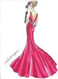 Vestidos de alta costura bocetos