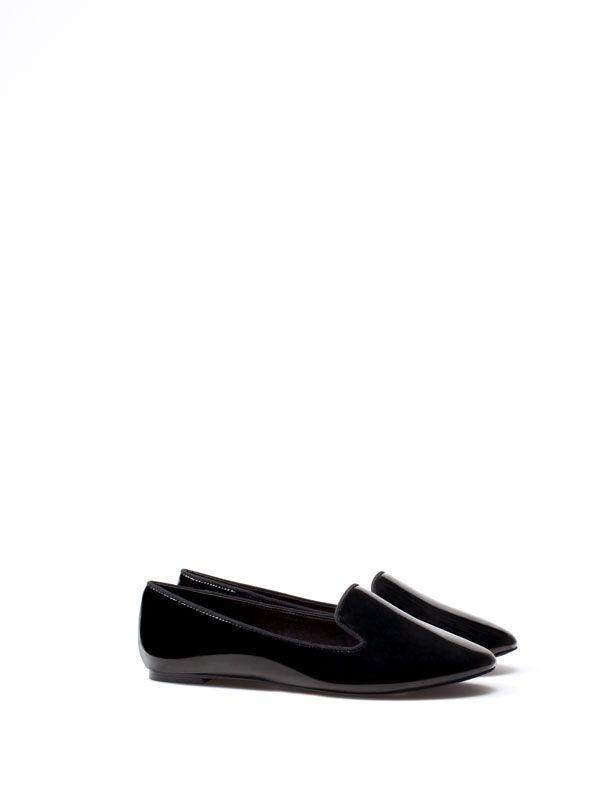 SLIPPER VERNIZ SINTÉTICO - Sapatos - Woman - | Lefties Portugal