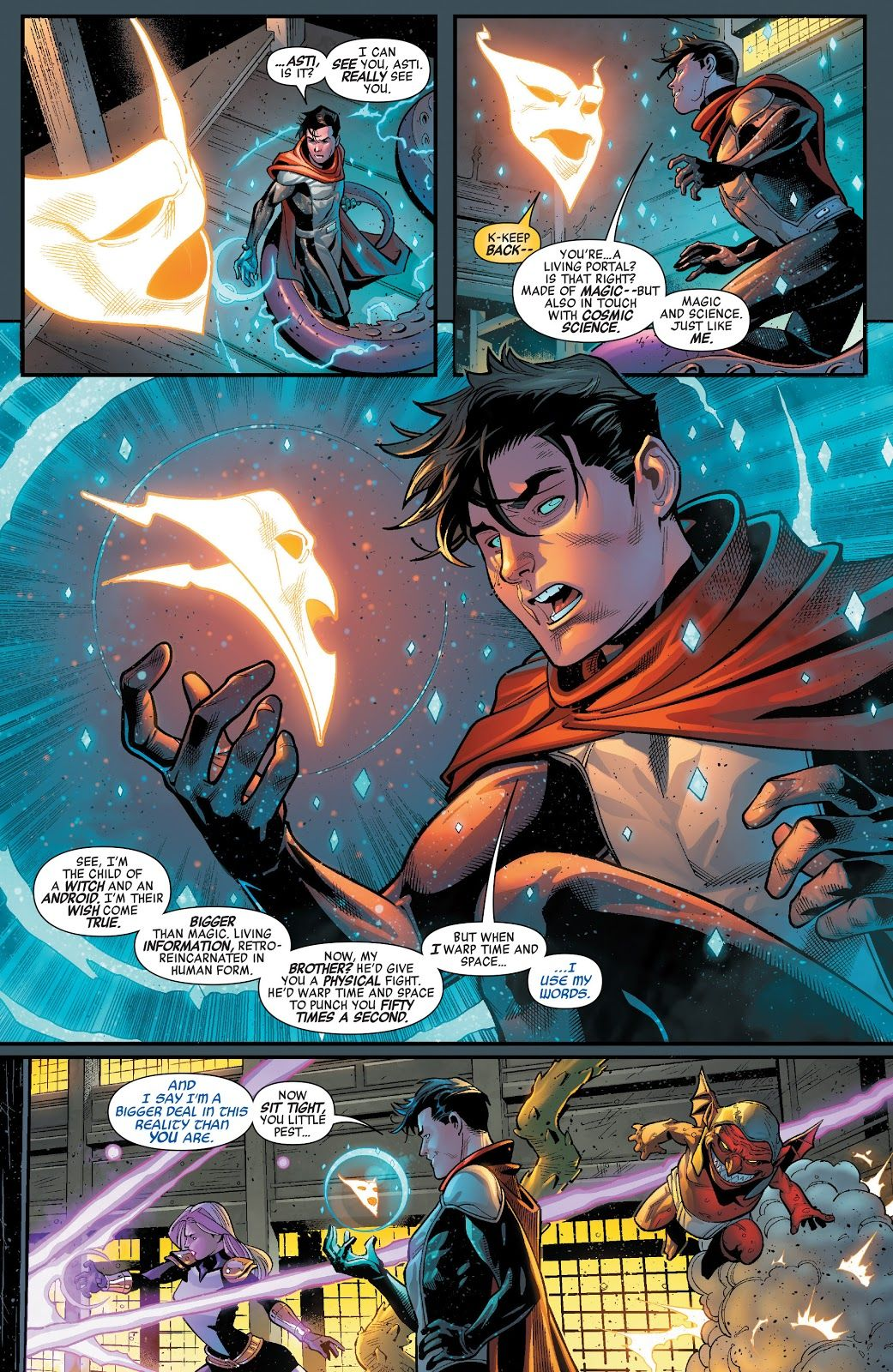 Pin by Joey G on My Bookshelf | Wiccan marvel, Marvel comic