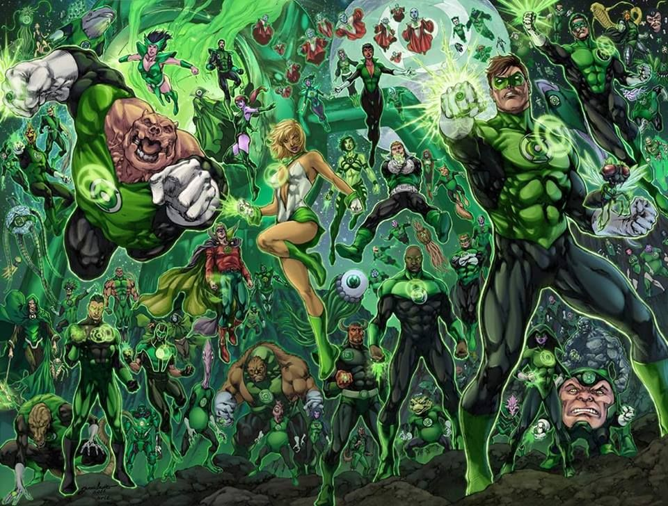 Green Lantern Corps - José Luis & Arison Aguiar