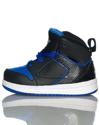 JORDAN Mid top infant toddler sneaker Lace up closure JORDAN jumpman on padded tongue Cushioned sole for ultimate comfort and performance