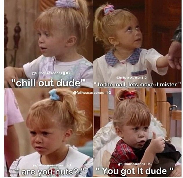 Funny Moments in Full house Full house funny, Full house