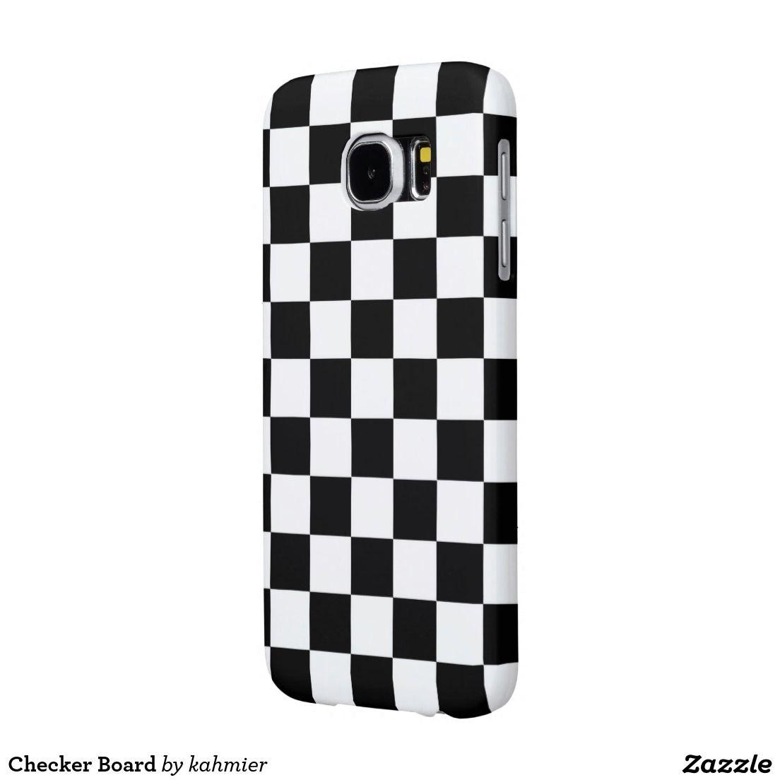 Checker Board Samsung Galaxy S6 Case