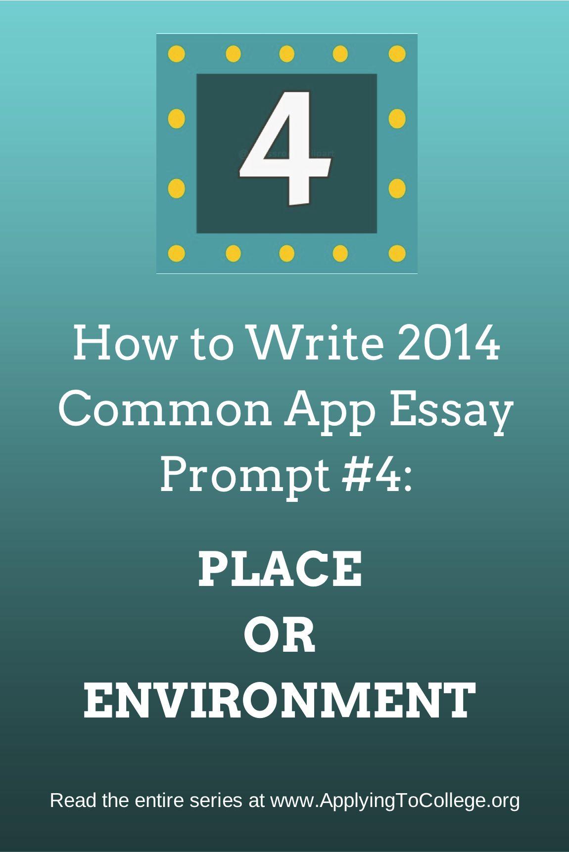 common app college essay prompts