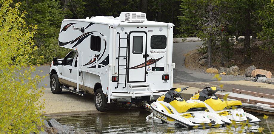 86fb Adventurer Truck Camper Premium Pickup Campers Slide In