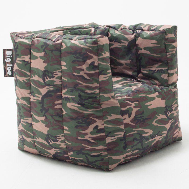 Fabulous Big Joe Cube Bean Bag Chair Camo 0669188 Bean Bag Chair Spiritservingveterans Wood Chair Design Ideas Spiritservingveteransorg