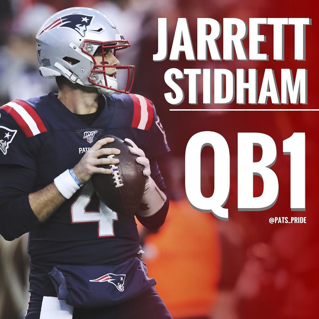 Jarrett Stidham8 Has The Keys To The Future Time Will Tell If He S The Real Deal In 2020 New England Patriots Patriots Fans Stidham