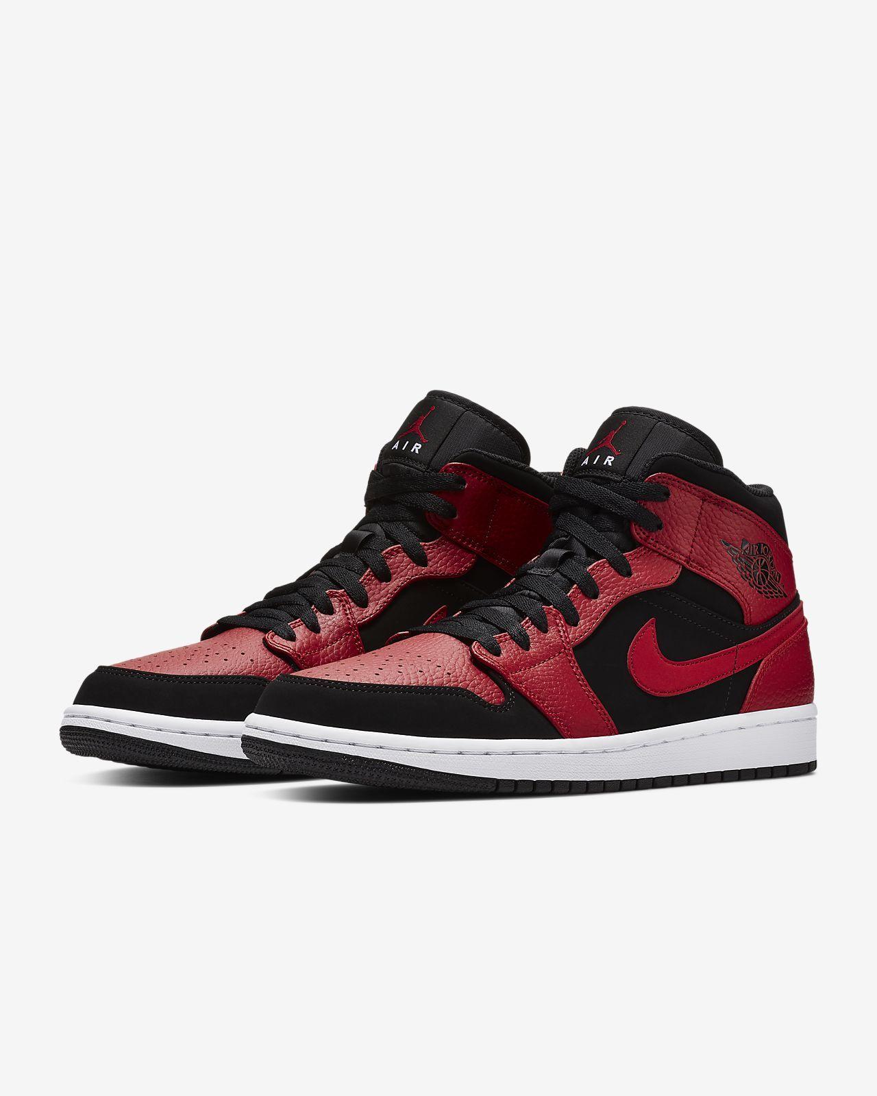 hot sale online 51a91 2d510 Air Jordan 1 Mid Men s Shoe