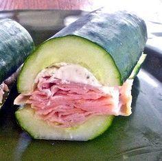 Ces sandwichs vont vous donner faim malgré leur spécificité... Ils sont sans pain ! Ca donne envie !