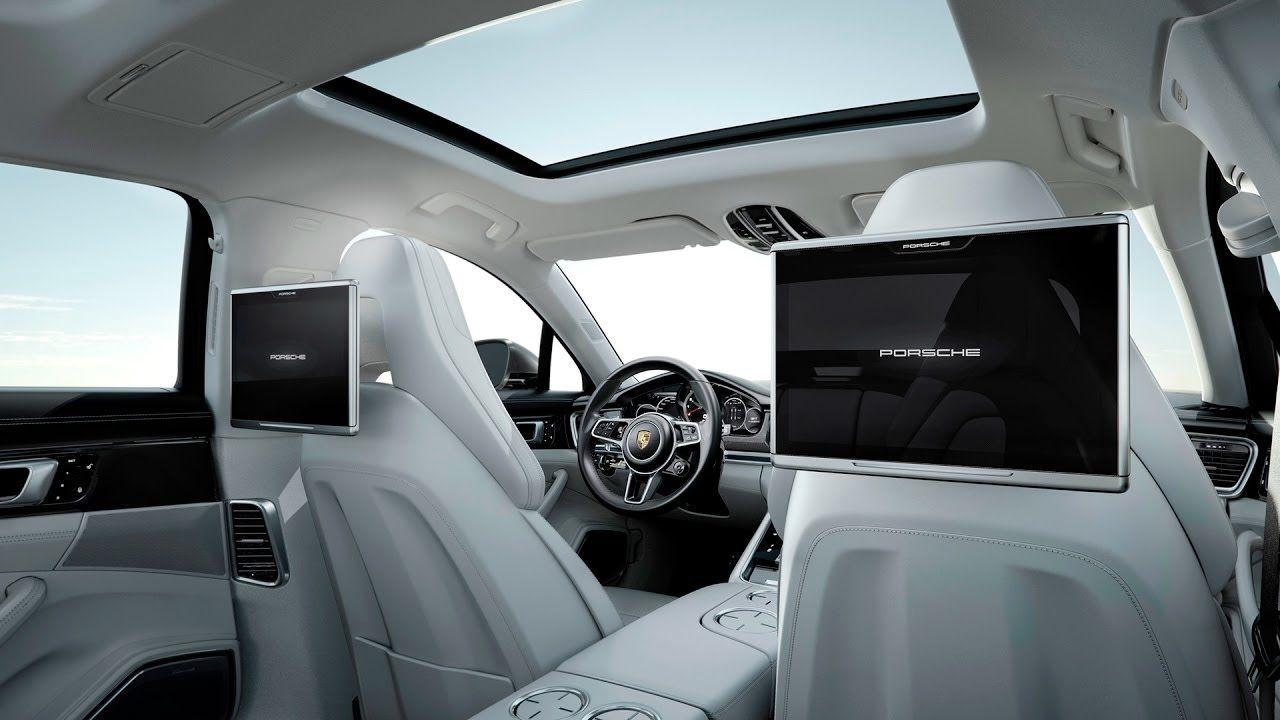 Porsche Panamera 2017 Rear Seat Entertainment Interior Hd