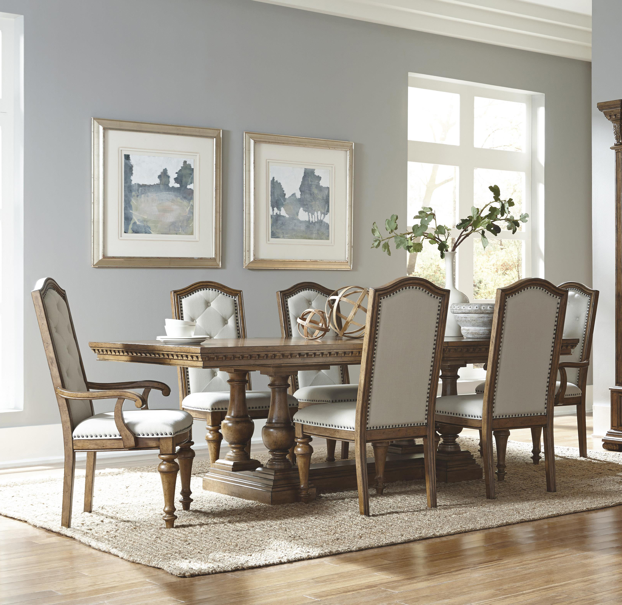 Charmant Stratton Rectangular Dining Room Table Set By Pulaski   Home Gallery Stores