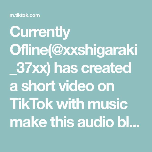 Currently Ofline Xxshigaraki 37xx Has Created A Short Video On Tiktok With Music Make This Audio Blow Up Greenscreen Cop Villain Deku Greenscreen Kirishima