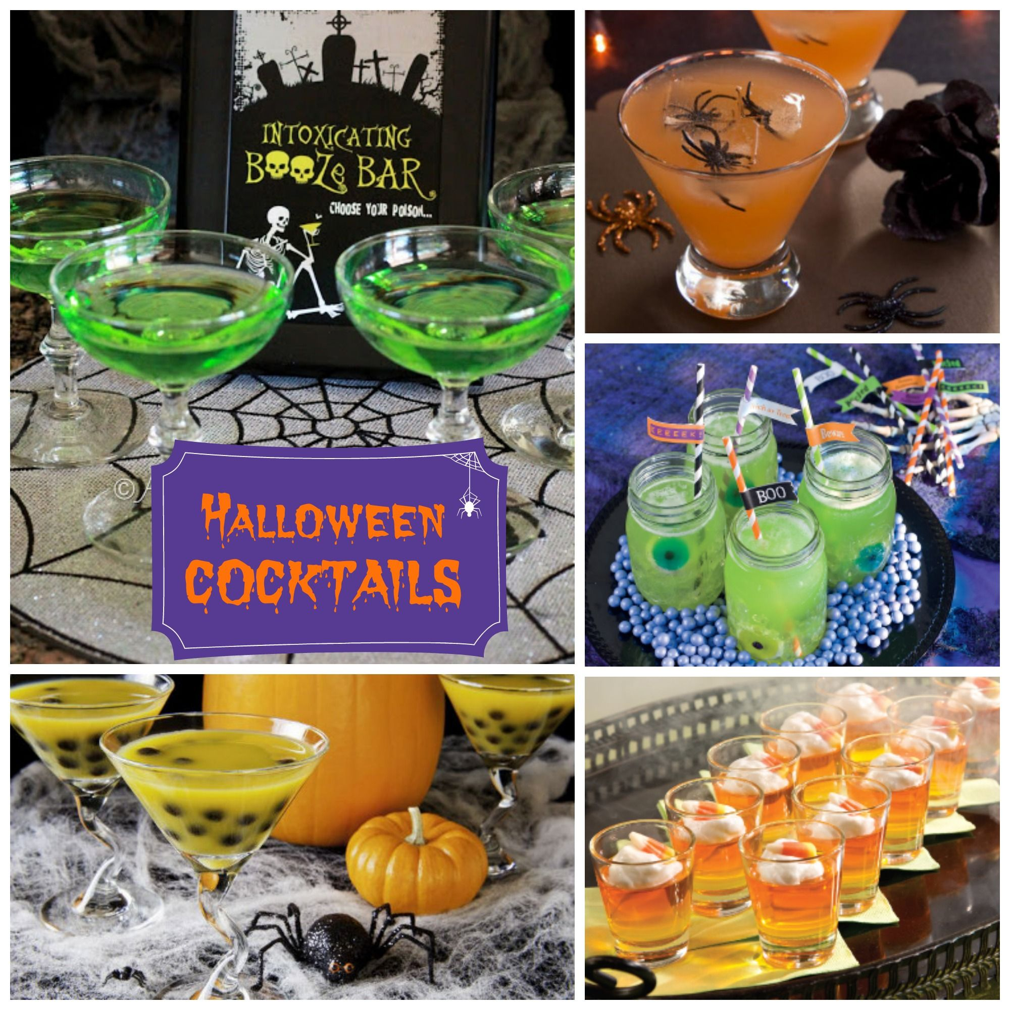 Attractive Halloween Cocktail Party Ideas Part - 3: Halloween Cocktails