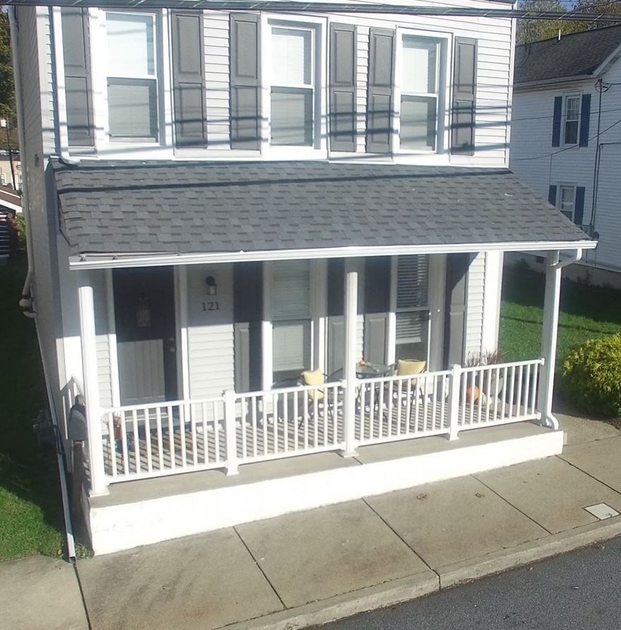 Not just a roofing job at this Emmaus home, but roofing