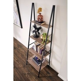 Closetmaid Ladder Bookshelf Natural