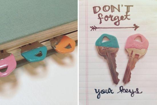 DIY Dipped Keys