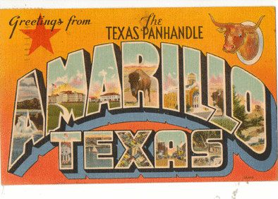 Greetings from Amarillo, Texas, 1947 #BlameItOnTexas #AmieLouellen #ContemporaryRomance