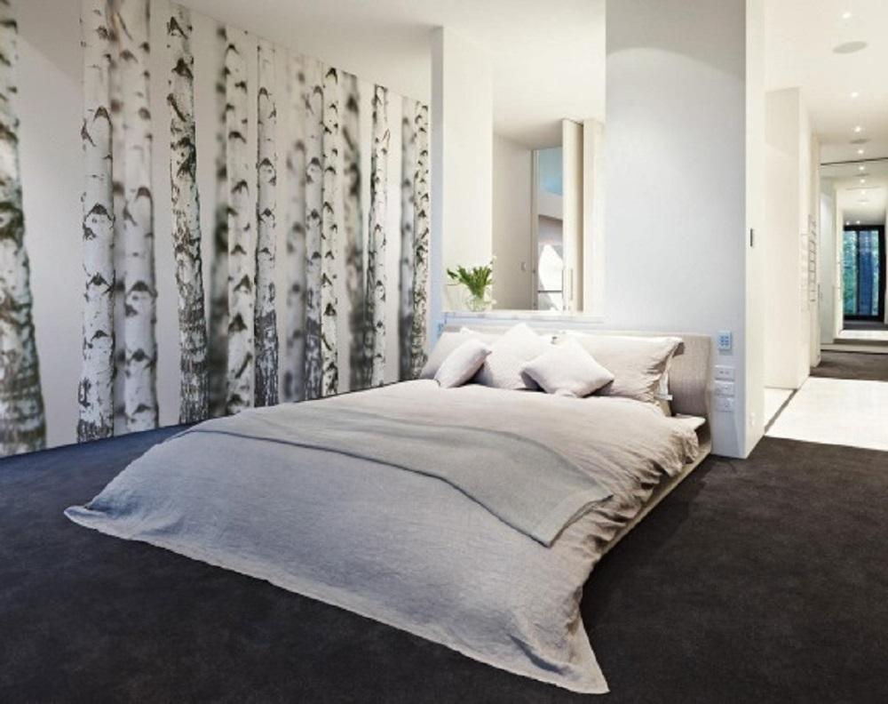schlafzimmer schwarz wei einrichten. Black Bedroom Furniture Sets. Home Design Ideas