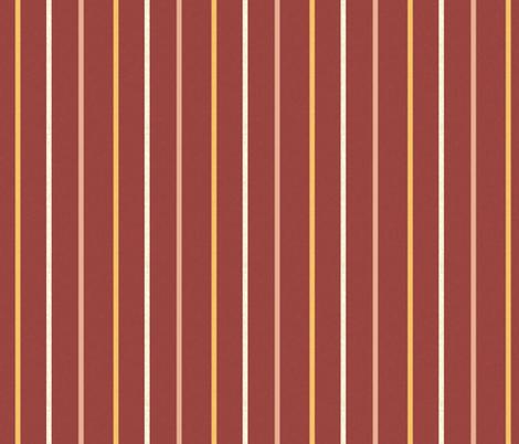 Minoan stripe 1 on Egyptian red fabric by su_g on Spoonflower - custom fabric