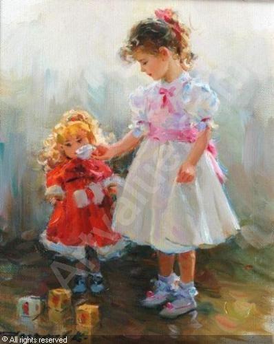 """RAZUMOV Konstantin,""""My toy doll"""",John Nicholson,Fernhurst"""