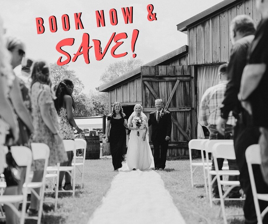 𝗘𝗡𝗗 𝗢𝗙 𝗦𝗘𝗔𝗦𝗢𝗡 𝗦𝗔𝗟𝗘 Save 𝟮𝟱𝟬 on any remaining 2020 date when you book before 121419