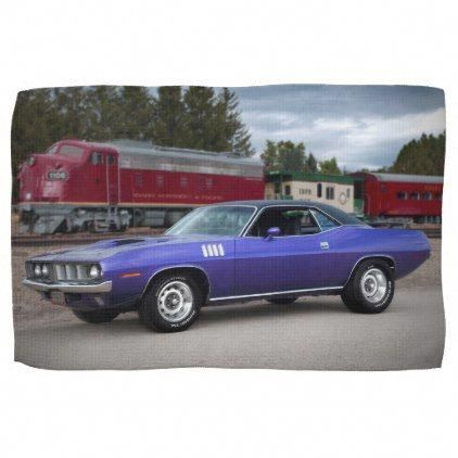 1971 Plymouth Barracuda Cuda Mopar Muscle Car Towel   Zazzle.com