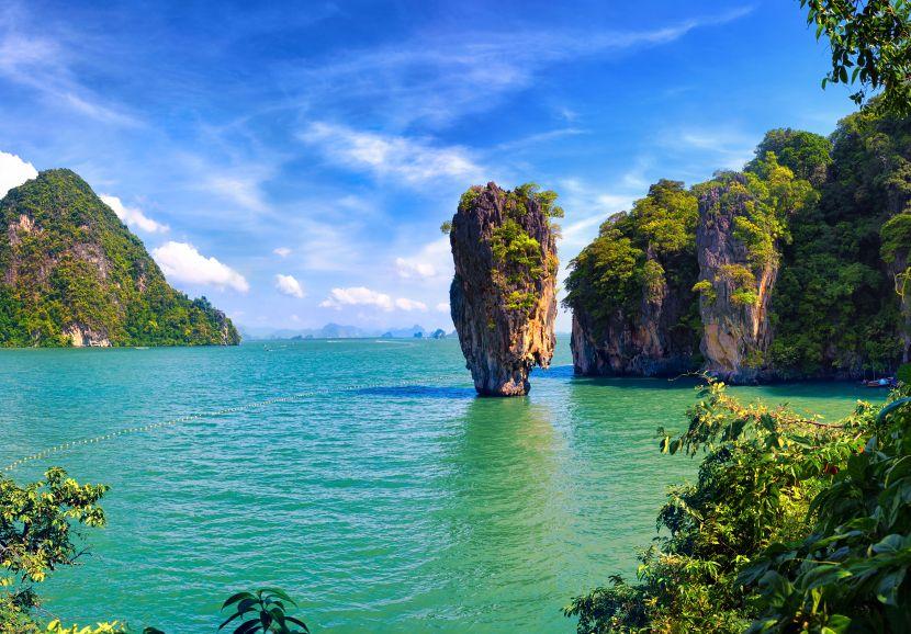 James Bond Island near #Phuket #Thailand #agoda