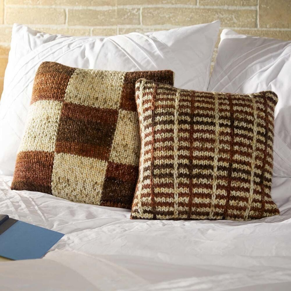 Pillow Pair Free Download | Knitted Snuggle Ups - All Free Patterns ...