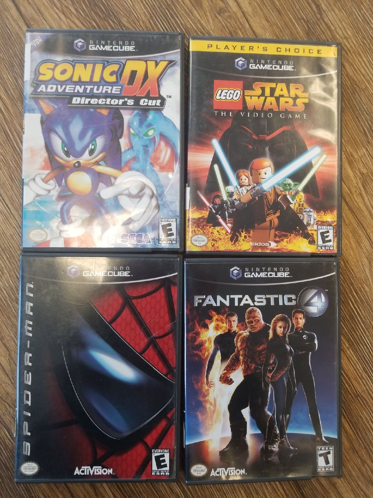 Gamecube Bundle Complete With Books Lego Star Wars The