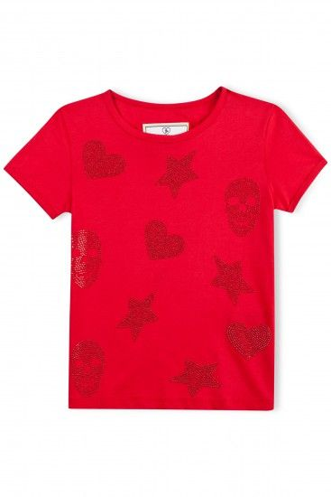 "PHILIPP PLEIN - Official Website | T-SHIRT ""STARS & HEARTS"" 