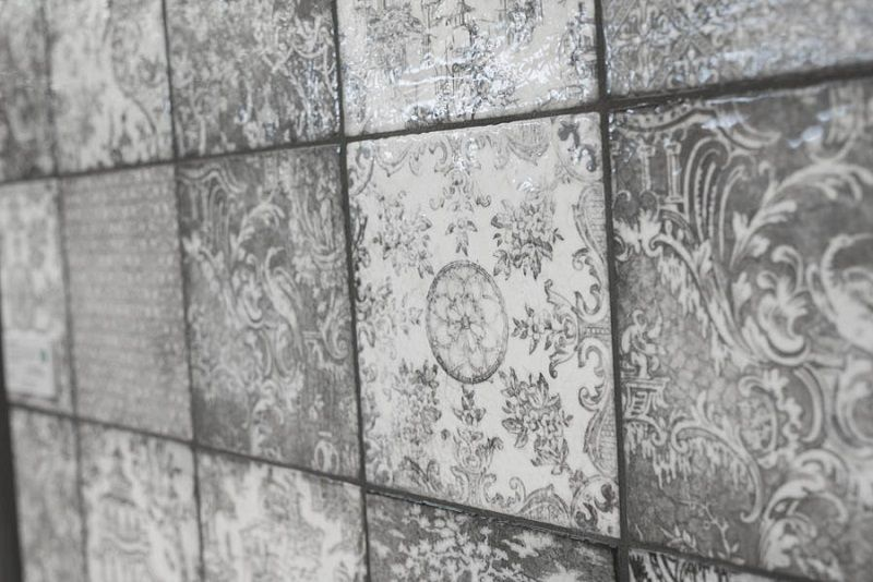 Decorative Porcelain Tile Stunning Decorative Patterned Porcelain Tiles Look Amazing Next To The Inspiration Design