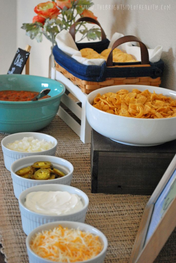 Host the perfect chili bar party - Crafty Housewife