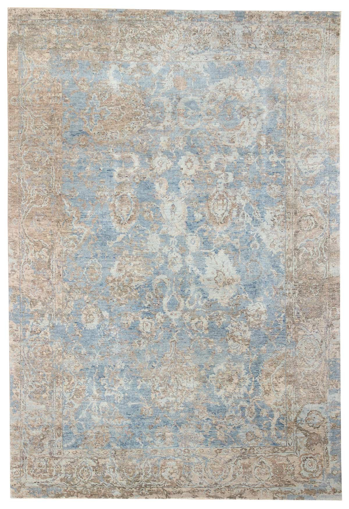 Recent Arrivals Gallery Patinated Look Rug Hand Knotted In India Size 6 Feet 0 Inch Es X 9 Feet 0 Inch Es Rugs Carpet World Modern Rugs